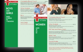 Medical Clinic of Dallas 32pg Pamplet
