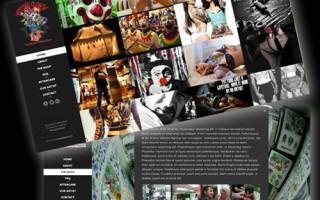 Psychoclown Tattoo Website