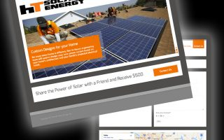 HT Solar Energy Website