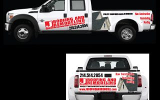 J Roofing – Truck Wrap