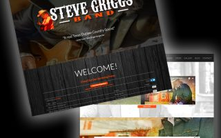 Steve Griggs Band Website