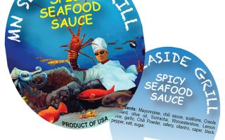 MN Seafood Grill Labels